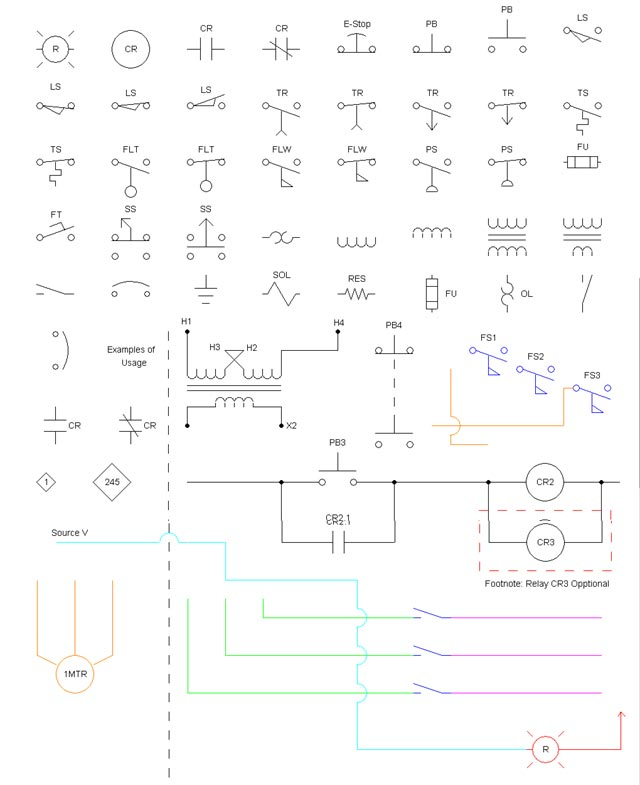 Electrical Symbols For Drawings 9857786 World Gtafo